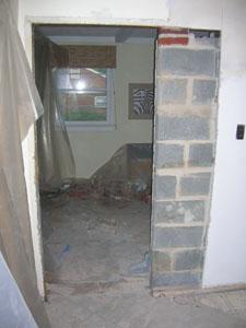 Brick Door - Sorta Open