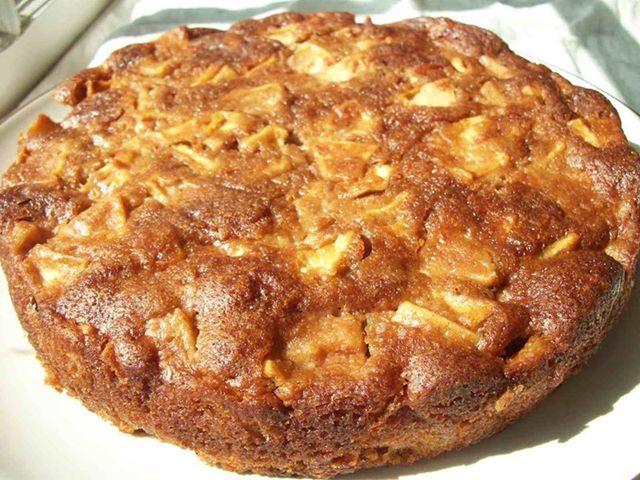 apple cake in one bowl dj s recipe cafe