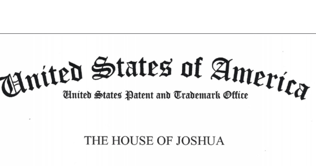 THE HOUSE OF JOSHUA Trademark Registration