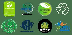 8 Certification Logos