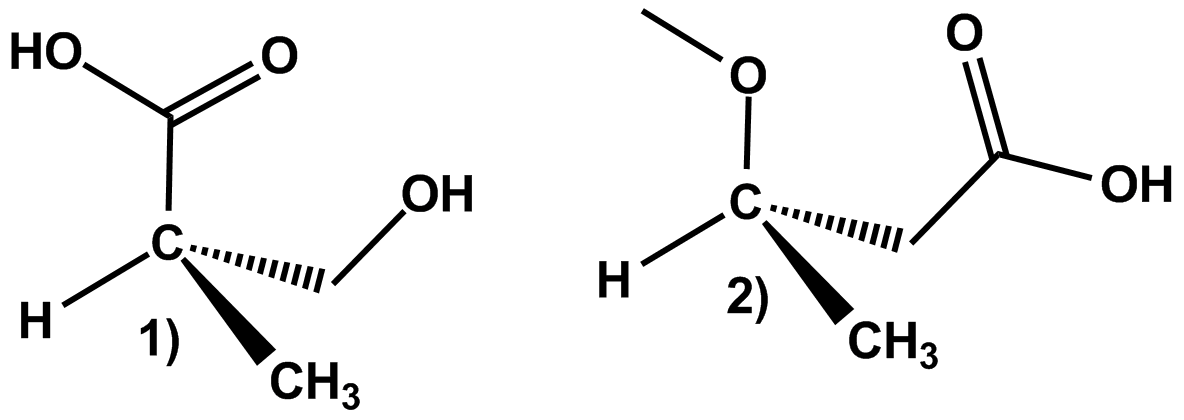 Solved: 1) Identify The Labeled Chiral Carbons As R Or S I