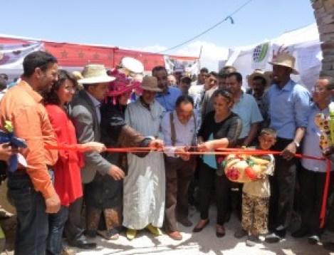 L'inauguration du CIPA ( Carrefour des Initiatives et Pratiques Agroécologiques), 27 mai 2015
