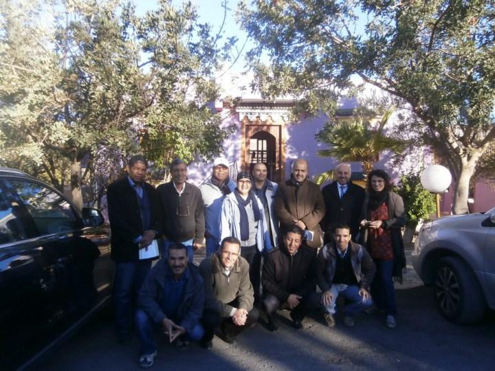 Photo de groupe des participants à l'université rurale
