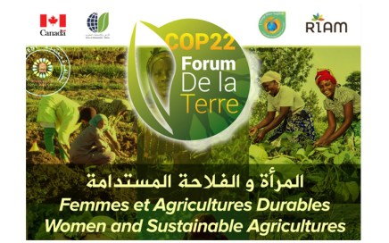 Thm co-organise Le Forum de la terre cop22