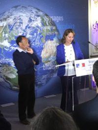 Remise de la Légion d'honneur Française à Pierre Rabhi