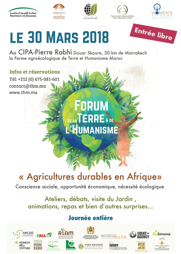 Forum de la Terre et de l'Humanisme Cipa Pierre Rabhi