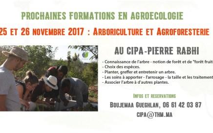 Formation Agroecologie Cipa Pierre Rabhi 2017