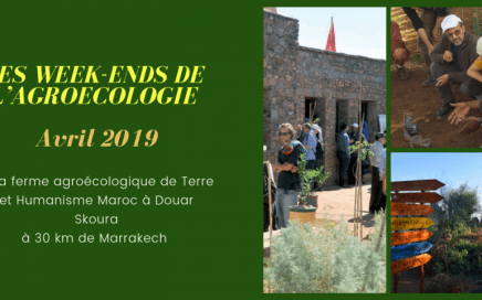 Formation Les weekends de l'Agroécologie Avril 2019