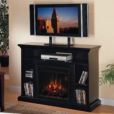 DISCOUNT Electric Fireplace Media Console Only 96260  eBay