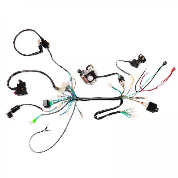 Ignition Coil CDI Spark Plug Set For 50 70 90 110 125cc