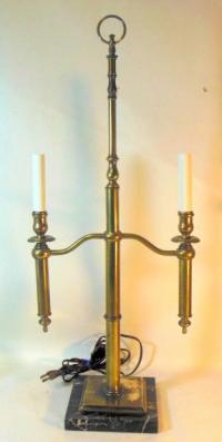 Vtg Mid Century Candelabra Lamp attrib to CHAPMAN ...