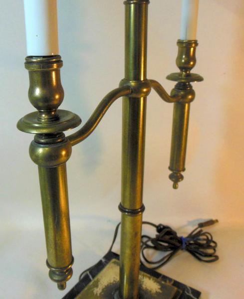 Vtg Mid Century Candelabra Lamp attrib to CHAPMAN