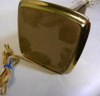 Mid Century Modern LAUREL Lamp Original Shade Brass Walnut ...
