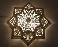 Moroccan Flush Mount Star Ceiling Light Fixture Lamp | eBay