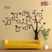 Family Tree Wall Decal Sticker Large Vinyl Photo Picture ...