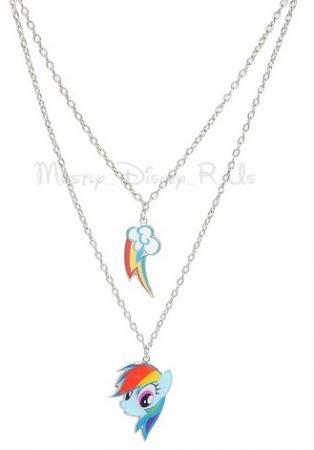 My Little Pony Brony Rainbow Dash Pendant Necklaces BFF 2