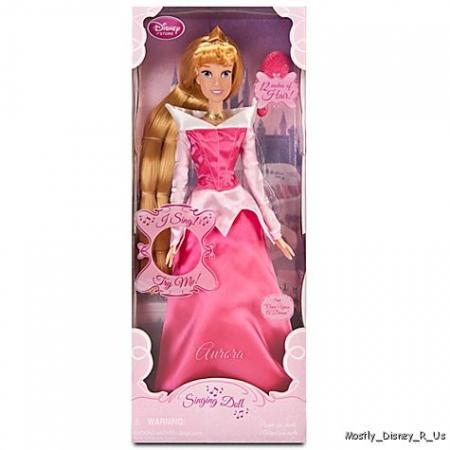 NEW Disney Store Sleeping Beauty Aurora Singing Doll 17