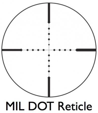 4X32 Compact Tactical Mil Dot Scope with FREE Scope Rings
