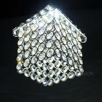 Sparkly Crystal LED Ceiling Pendant Light Lamp Shade ...