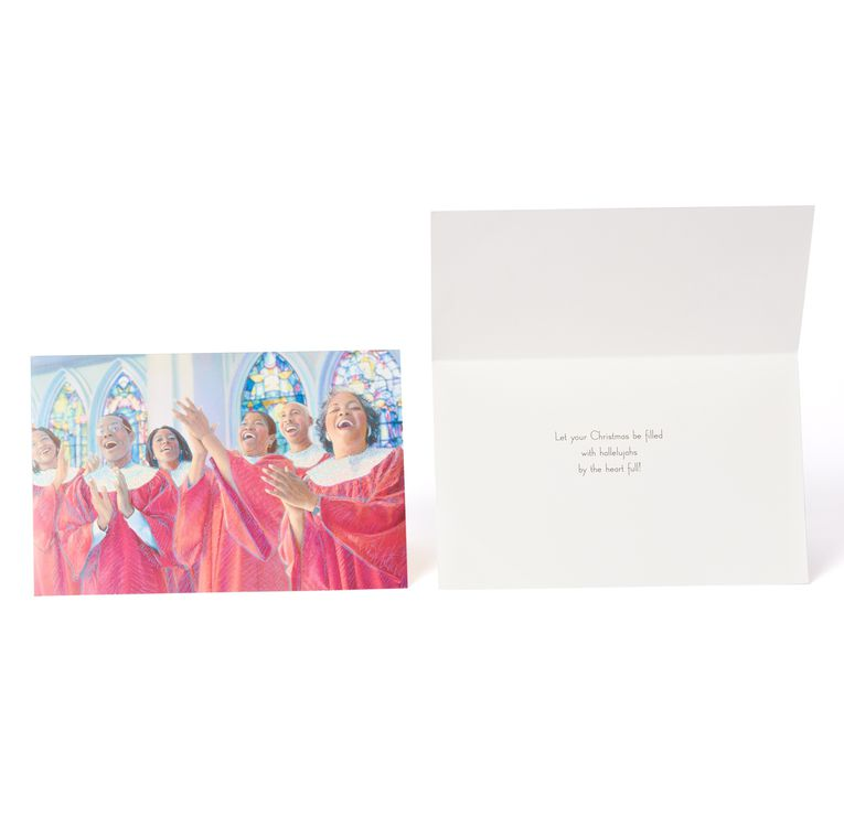African American Christmas Boxed Cards 24 Count