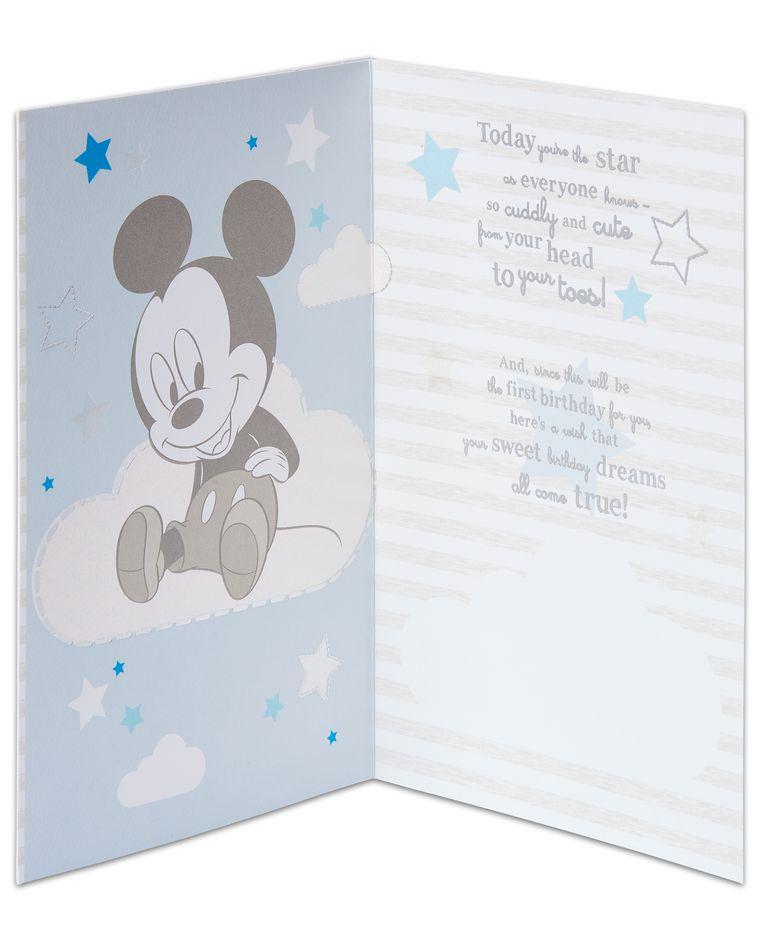 Mickey Mouse™ 1st Birthday Card American Greetings
