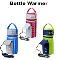 Babyono Insulated Baby Bottle Bag With Soother Case Travel ...