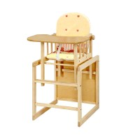 NEW FEEDING HIGHCHAIR WOODEN MULTIFUNCTIONAL ADJUSTABLE ...