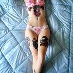 Những ảnh kinh hãi chỉ xem một mình! - Tattoo Sexy Girl