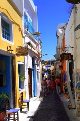 Shops in Fira - Santorini