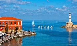 Hania Port by Day - Crete