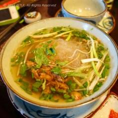Mien luon nuoc (Eel cellophane noodle soup)