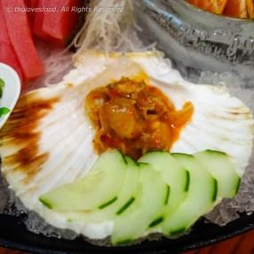 Kimchi Scallop