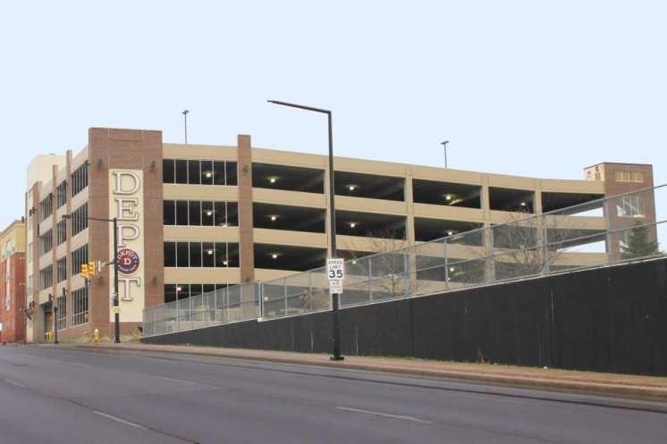 The Depot Parking Garage 2