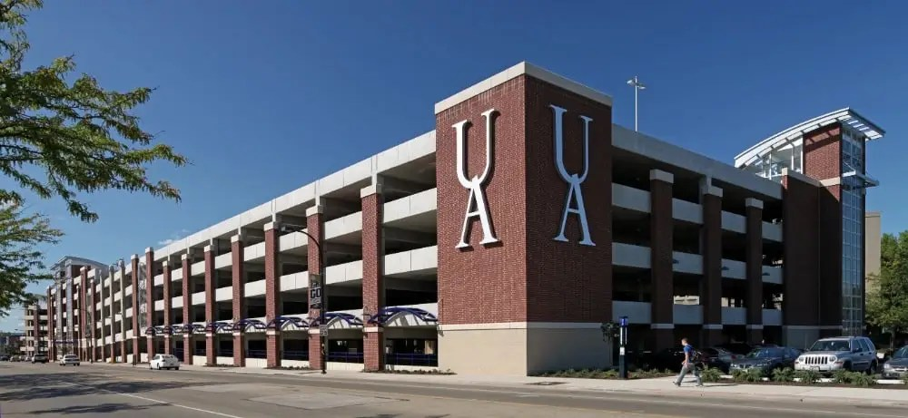 University of Akron – Exchange Street Parking Deck 1