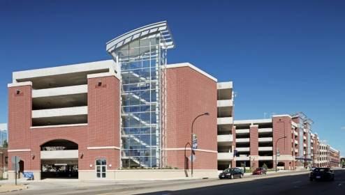 University of Akron – Exchange Street Parking Deck 3