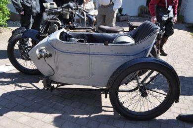 Seitenwagen - Williamson Watercooles Bj. 1914