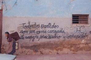 Dans une rue , à Potosi , Bolivie....