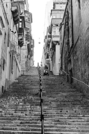 Dans les rue de La Valette (Malte) Novembre 2014
