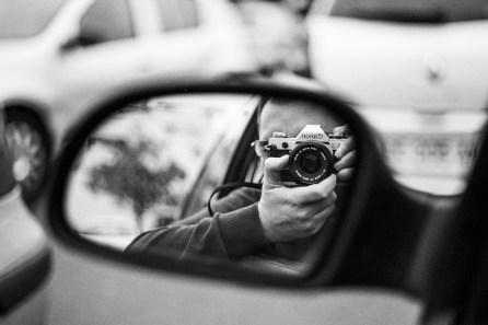 Autoportrait - Canon AE-1