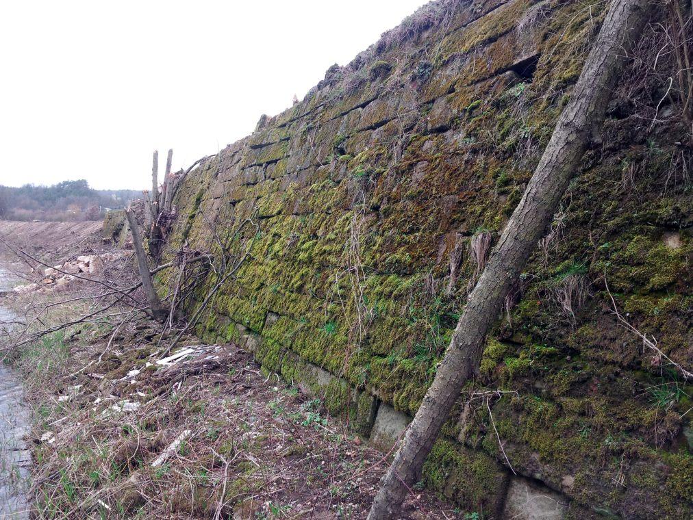 Südlicher Teil der Bamberger Mauer