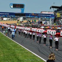 Feierliche Eröffnung des legendären FIM EWC 24 heures Le Mans