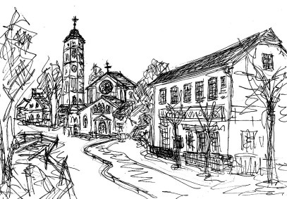 ArkadSk14 Caputh Dorfkirche