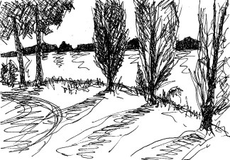 ArkadSk8 Neuer Garten Uferpromenade
