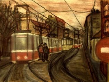 BLN17_Strassenbahnen in Mitte