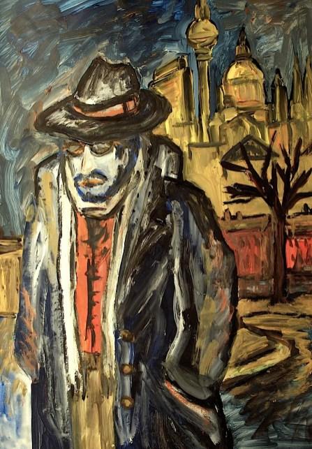 BLN22-Nacht-Der Mann mit Hut