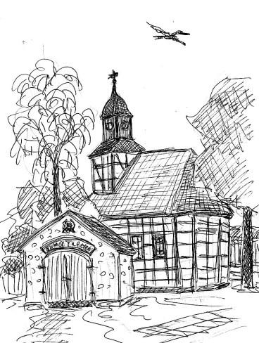BarnimSk7 Tuchen Fachwerkkirche