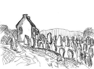 Bretagne23-Menhire von Menec1