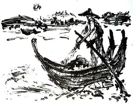BurmaG7-Boote in U-Bein-OL