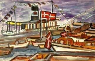 Daenemark4-Faehrhafen Roskilde
