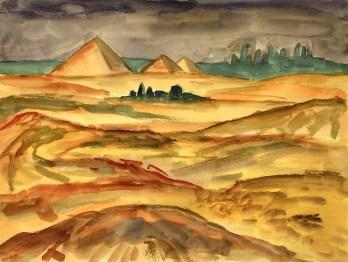 Egypt1-Pyramiden bei Saqqara